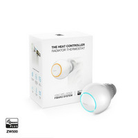 FIBARO - Heat Controller Z-Wave Plus - Patteritermostaatti