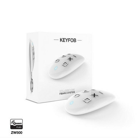 FIBARO - Keyfob Z-Wave Plus - Kaukosäädinpainike