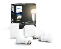 Philips Hue White aloituspakkaus E27 - 3/1/1