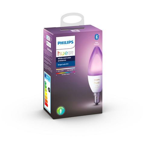 Philips Hue White and Color Ambiance E14 - LED lamppu