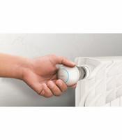 FIBARO - Heat Controller Z-Wave Plus - Patteritermostaatti + anturi
