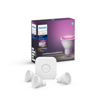 Philips Hue White and Color Ambiance Aloituspakkaus GU10 - 3/1