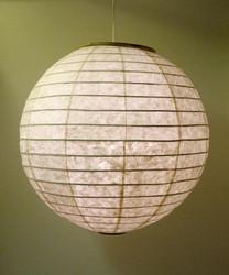Lokta-pallo 60cm, luonnonvalkoinen