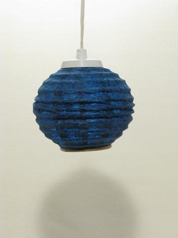 Lokta-minipallo 15cm, sininen, 'tiibettiläinen pilvi' -painatus