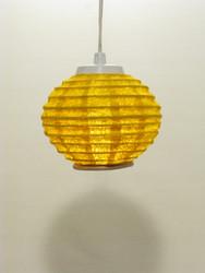 Lokta-minipallo 15cm, keltainen, 'tiibettiläinen pilvi' -painatus