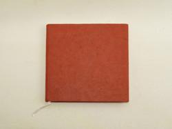 Vieraskirja neliö, punainen