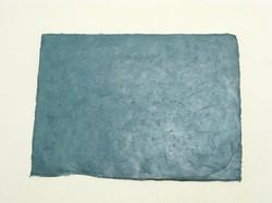 A4 tumma petroolin sininen, revitty reuna