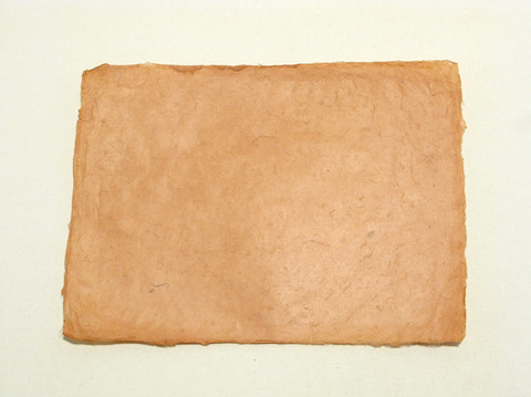 A4 kanelin ruskea, revitty reuna