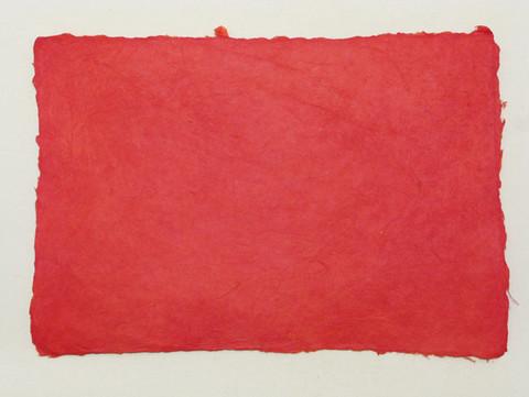 A4 syvä punainen RD1, revitty reuna