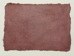A4 tumma viininpunainen WR1, revitty reuna