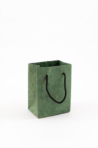 Lahjakassi, pieni, vihreä