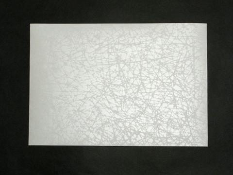 A4 Zen, valkea, helmiäispainatus