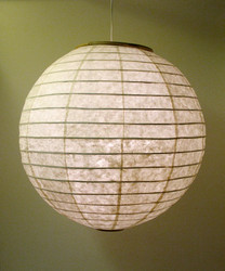 Lokta-pallo 80cm, luonnonvalkoinen