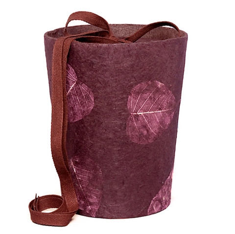 C14 pipal, wine red, cone