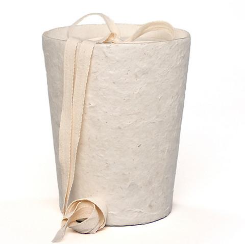 C01 mica, natural white, cone