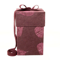 C14 pipal, wine red, cube L