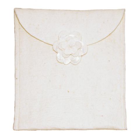 C01 ruusu, valkea, tuhkapussi, L