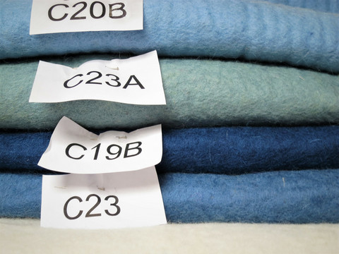 Vauvan sininen C20B, 5 mm, 50 x 50 cm
