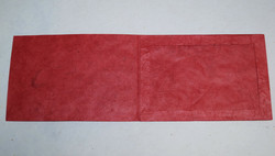 Kiitoskortti vaakakuvalle, punainen