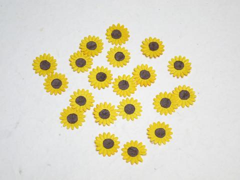 Pienet paperiset auringonkukat 20 kpl