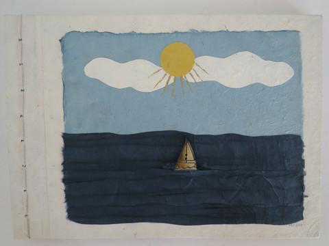 RRS Design albumi, kannessa meriaiheinen koristelu