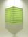 Lokta-kuutio 30x30x40cm, vaaleanvihreä RRS-kukka