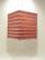 Lokta-kuutio 30x30x40cm, vaaleanpunainen RRS-kukka
