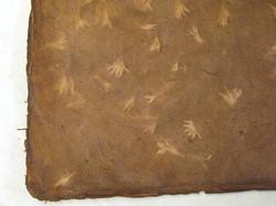 50x75cm varjokukka, ruskea
