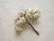 Paperiruusu, valkea 10 kpl/paketti