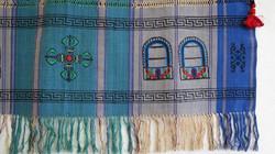 Dhukuti-liina sinisävyinen, kapea