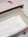 C01, valkea, 4-kulmainen vauva-arkku L