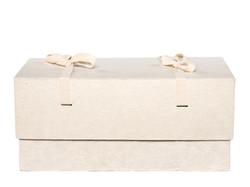 C01, valkea, 4-kulmainen vauva-arkku M