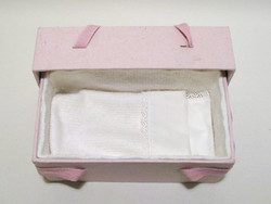 C16, light pink, 4corners babycasket L