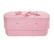 C15C butterfly, light pink, felt oval babycasket L