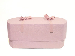 C16, light pink, oval babycasket L