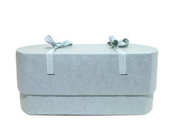 C23, light blue, oval babycasket L