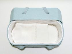 C01, valkea, ovaali vauva-arkku M
