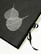 Adressilaatikko, C24 hopeapipal, musta
