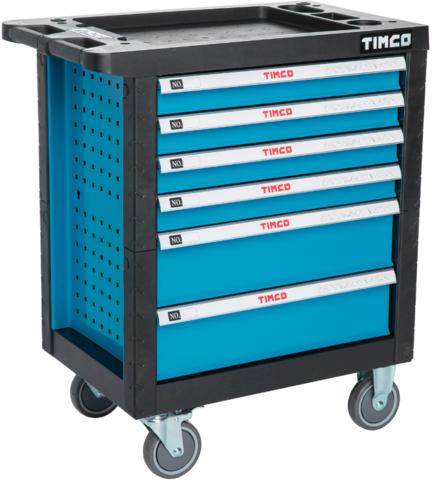 Timco Työkaluvaunu työkaluilla 220-osaa
