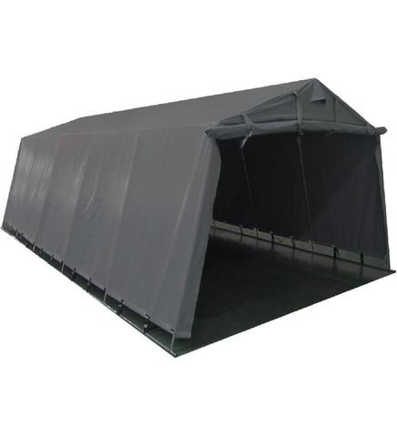 Pressutalli Prohall 7m x 3,4m, korkeus 2,2m, 500g/m2