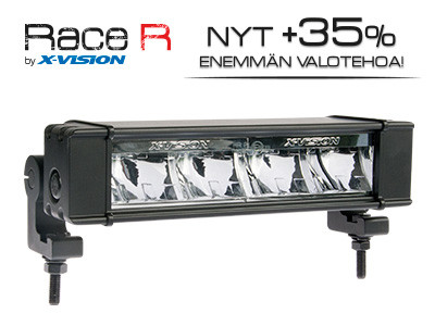 X-Vision Race R4, LED Lisävalo, 32W, 241mm, Ref 20