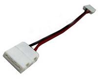 LED Nauhan painettava jatkoliitin 10mm, 15cm johdolla