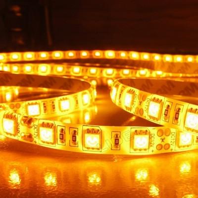 LED Valonauha 5m, 12V, 15W, IP20, keltainen