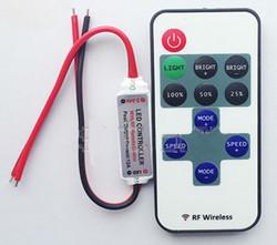 LED Kaukosäädin RF, 12A, 5-24V