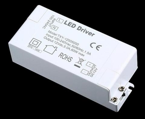 LED Muuntaja 60W, 12V
