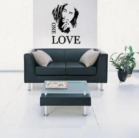 Sisustustarra One Love -Bob Marley