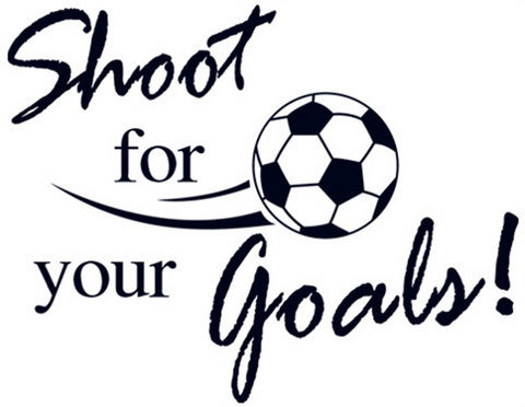Sisustustarra Shoot For Your Goals!