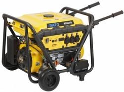Aggregaatti Rato R6000D, 12/230V, 6,0kW, sähköstartti, bensiini