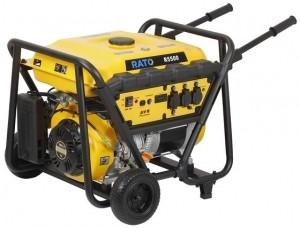 Aggregaatti Rato R5500, 12/230V, 5,5kW, bensiini