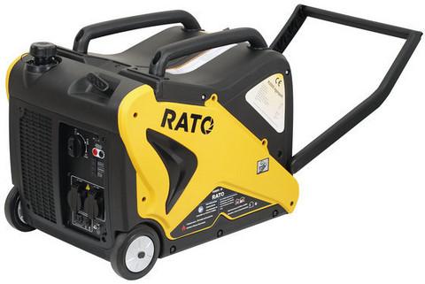 Aggregaatti-invertteri Rato R3000iS, 12/230V, 3,1kW, bensiini